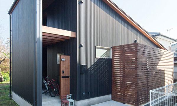 日立市・水戸市の注文住宅モリハウジングの黒い外観