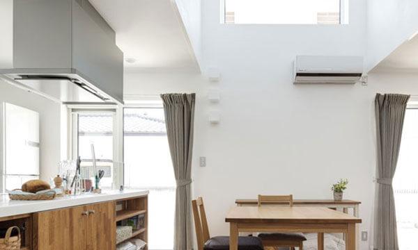 日立市・水戸市の注文住宅モリハウジングの対面式キッチン