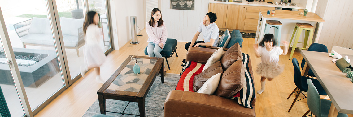 モリハウジングが建てる家の耐震性能は「耐震等級3」の最高基準です